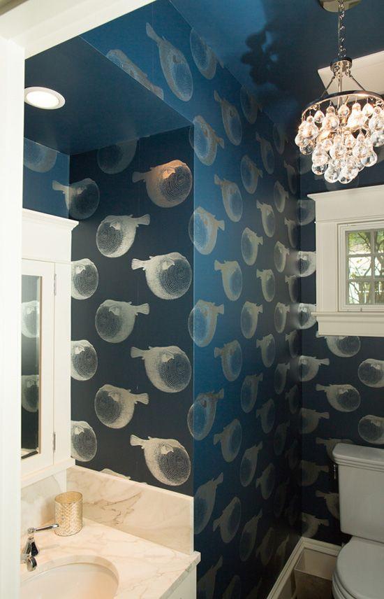 Pulp Design Studios   Desire To Inspire   Desiretoinspire.net · Fish  WallpaperTree SlicesBeautiful BathroomsEclectic StyleQueen AnneHalf ...