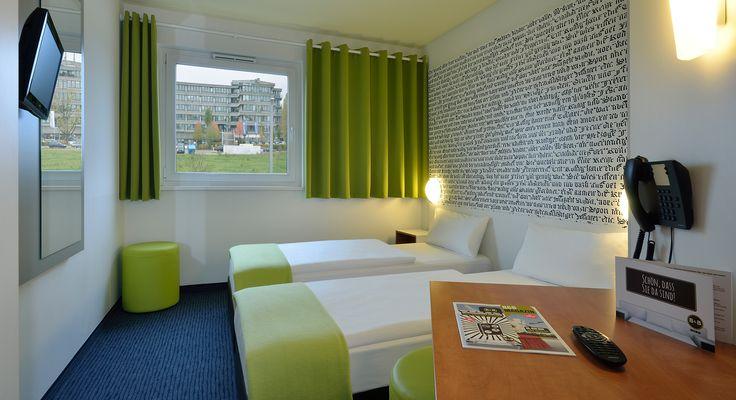 Zweibettzimmer im B&B Hotel München-Messe