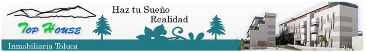 Nuevo portal web Inmobiliaria Top House Toluca.