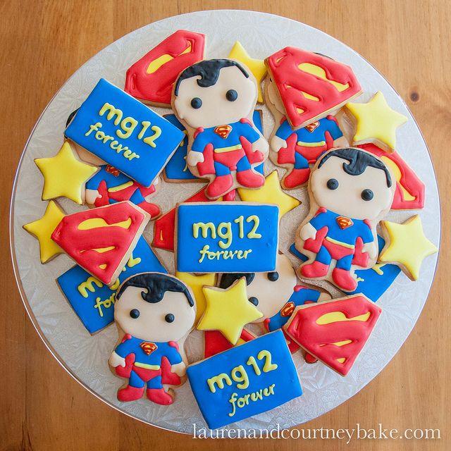 superman sugar cookies | Superman Cookies 1
