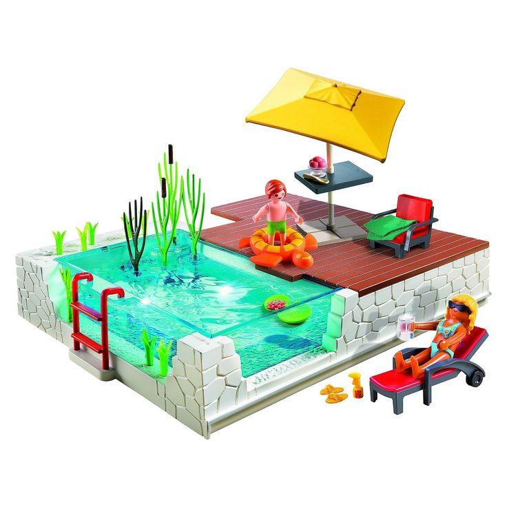 Les 25 meilleures id es de la cat gorie piscine playmobil for Piscine play mobile