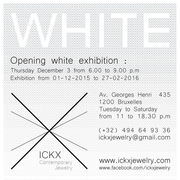 White Exhibition #interdema #white #WhiteExhibition #contemporaryjewellery #fashion
