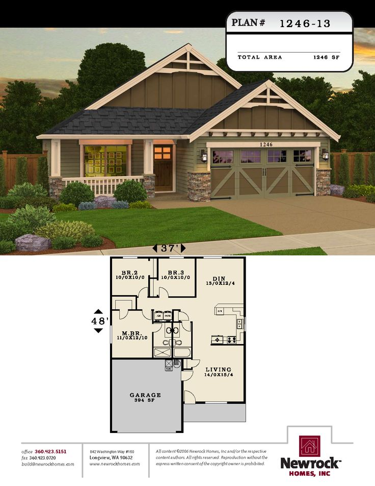 Newrock Homes Plan House Plans
