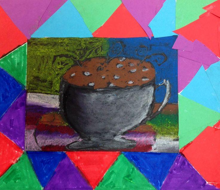 17 mejores ideas sobre arte de tiza en colores pastel en for Pintura color berenjena