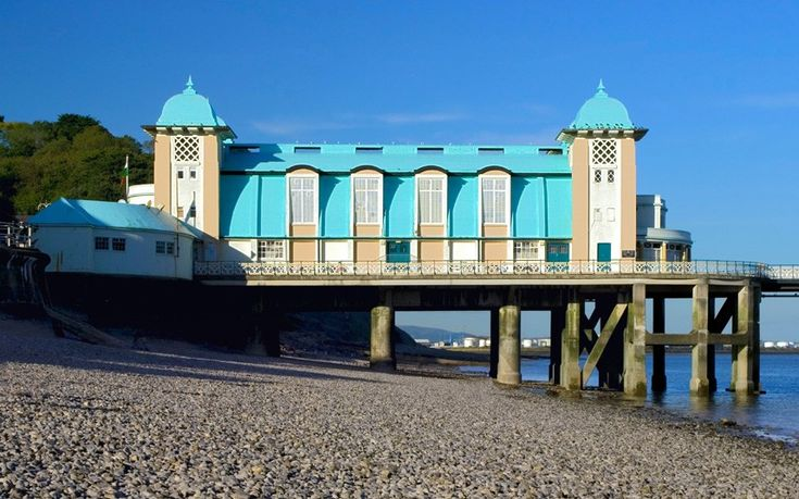 Penarth in South Wales is home to a Victorian pier with a wonderful art deco pavilion, opened in the 1930s.