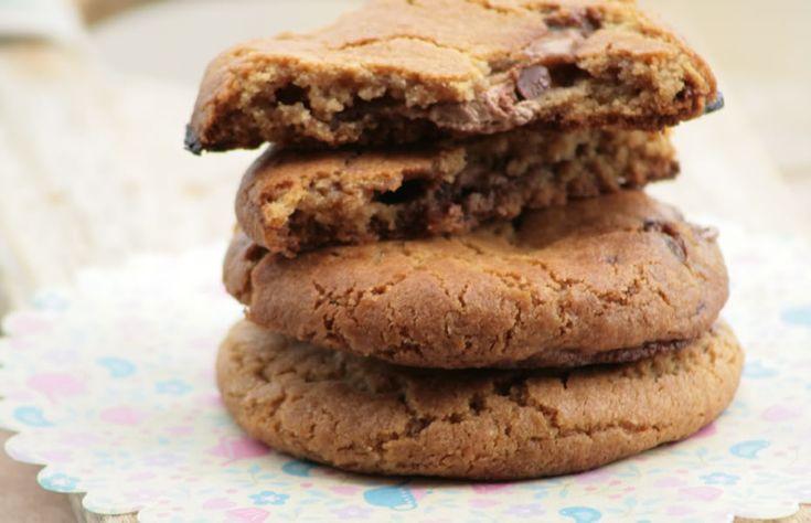 Cookies med Mars-bar