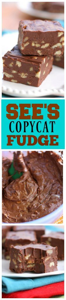 See's Copycat Fudge is perfect and creamy. No candy thermometer required!
