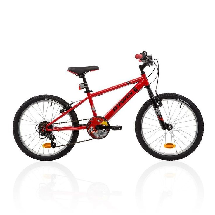"129,99 € - GROUPE 6 - VELO 20"" RACINGBOY 320 ROUGE - B'TWIN"