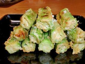 サクッと美味しい!大豆粉でオクラのてんぷら レシピ・作り方 by みー5548 楽天レシピ