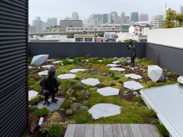 26 best roof garden images on pinterest rooftops green for Rooftop landscape design
