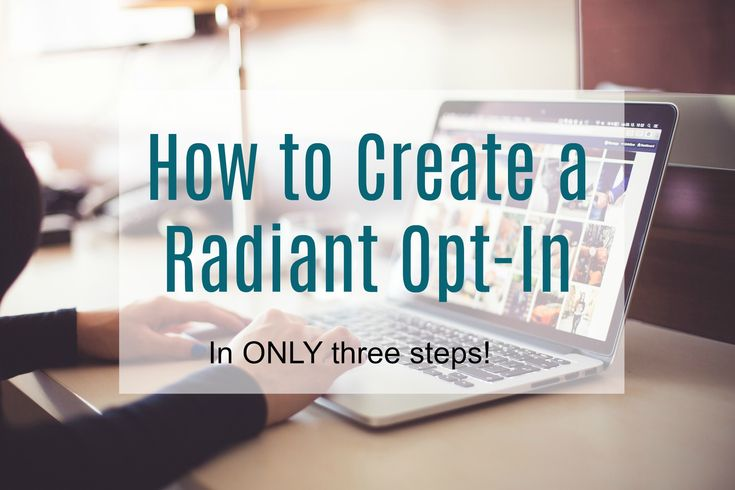 THREE HOT TIPS on how to create an opt-in to make you stand out online. Learn the basics and the tools you will need.