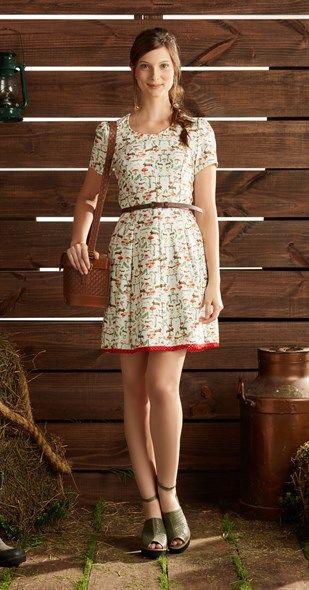 A Antix pegou pesado com o meu coração nesta nova coleção... =(  Vestido Jardim de Cogumelos