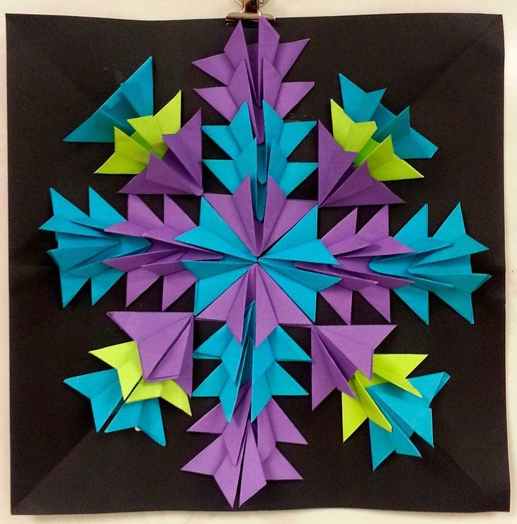 simetria para alunos que j u00e1 fizeram muito origami art with