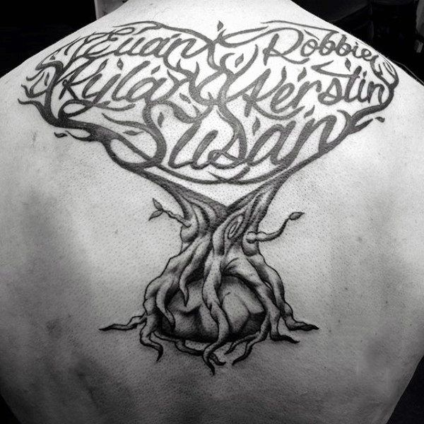 25 bezaubernde stammbaum tattoos ideen auf pinterest. Black Bedroom Furniture Sets. Home Design Ideas