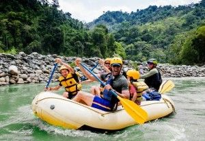 Take the whole family to Costa Rica for river rafting fun.  http://www.villascostarica.com/blog/2015/02/costa-rica-ranks-first-best-family-vacation-destination/