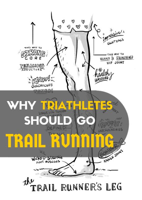 "Running on trails does a body good. Thanks to varied terrain and softer natural surfaces underfoot, running on trails can both improve your overall fitness and be more forgiving to your body than road running. Click here to find ""Why Triathletes Should Go Trail Running"" - http://www.active.com/triathlon/articles/why-triathletes-should-go-trail-running"