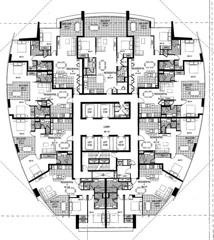 crazy floor plans | image hosted on flickr