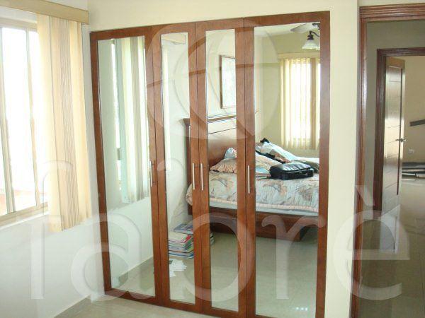 Cl set con 3 puertas de espejo de cuerpo entero for Espejo de pared cuerpo entero