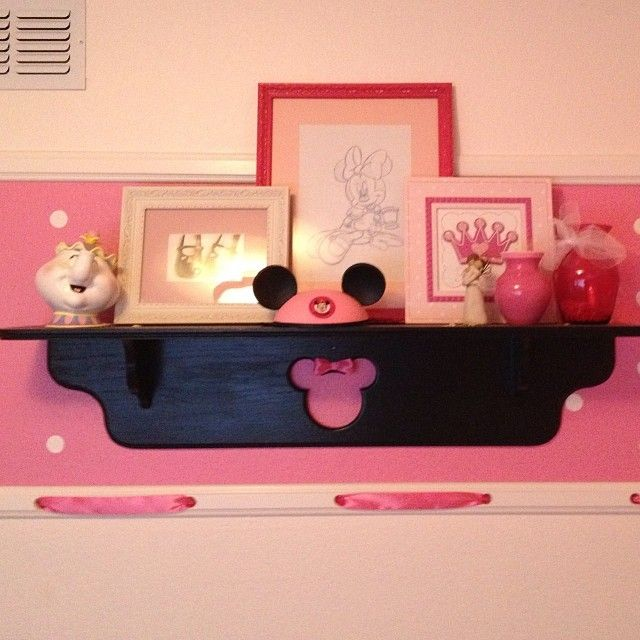 Minnie Mouse Toddler Room Paint Tutorials