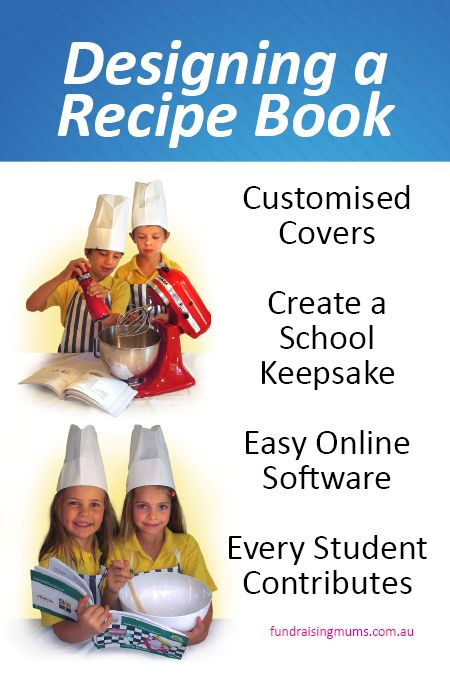 How to make your own recipe book which you can sell.