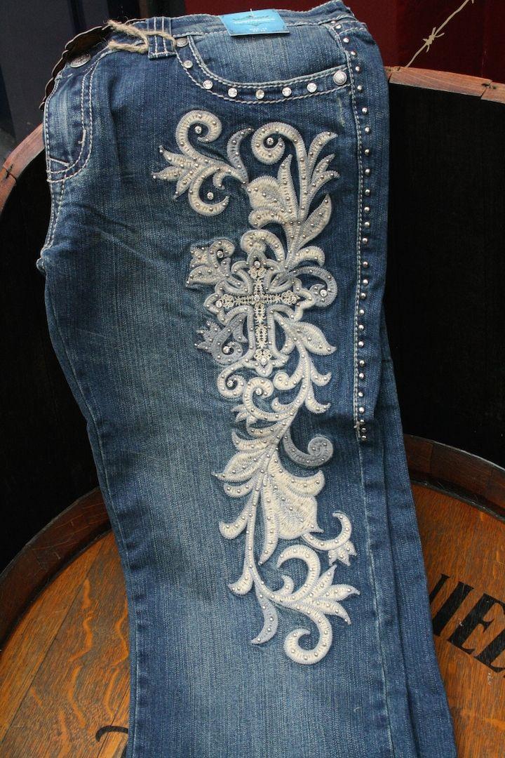 Western dames jeans :: Silverado Indian Western Store - Sendra Boots Online