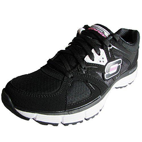 Zapatillas RYKA Elita Cross-Trainer para mujer, negro / plateado, 7,5 W EE. UU.