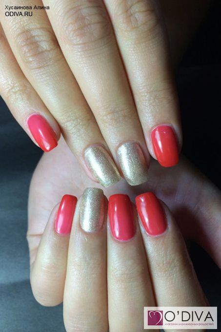 Bluesky, термо гель-лак (бордово-розовый TC012) http://odiva.ru/~USB8E  #гельлак #шеллак #shellac #bluesky #блюскай #дизайнногтей #ногти #идеиманикюра #маникюр