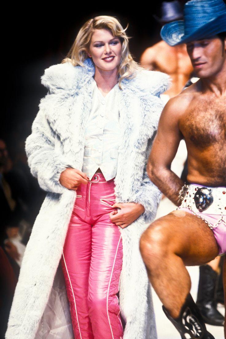 Katherine RTW F/W 1995 90s fashion, Fashion, Red