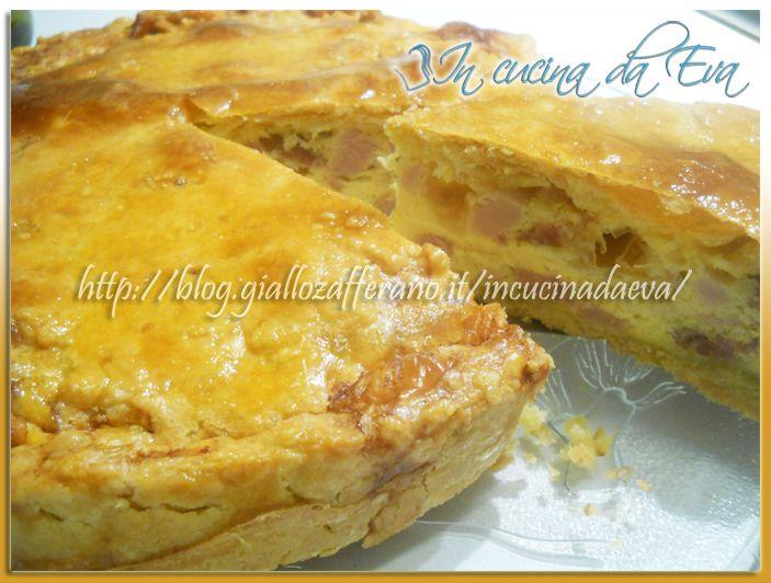 Cucina regionale Abruzzese: Pizza rustica salata