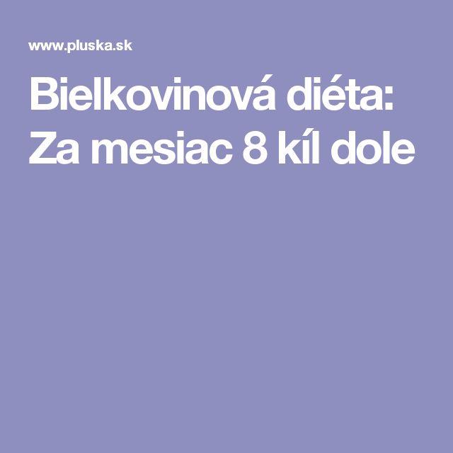 Bielkovinová diéta: Za mesiac 8 kíl dole