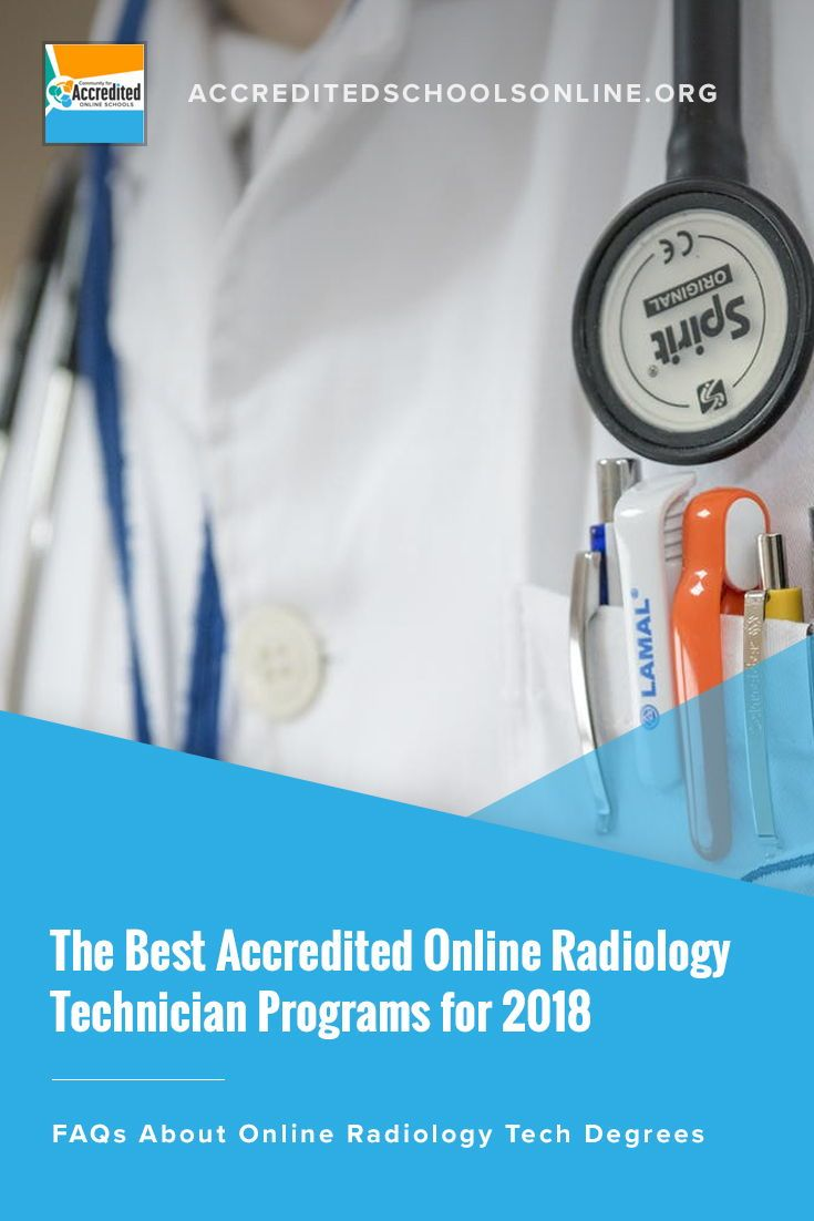 Top Accredited Campus Online Radiology Technician Schools For 2018