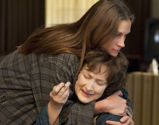 """If I were to sum up August: Osage County in one word, it would likely be """"intense."""" But not in the guns-a-blazing, action-packed Die Hard–style sense of the word. Rather, this movie is about real pain, the dramatic consequences of secrecy and revelation, and how families struggle to keep things together even through the toughest times."""