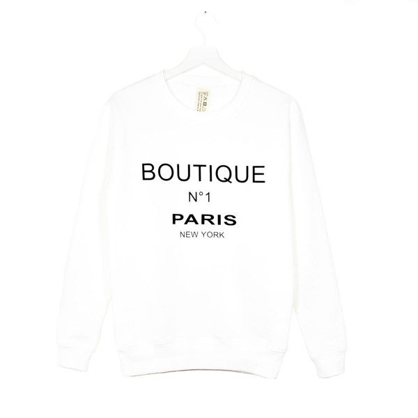 EDWARD EDWARD Jenifer Blanc Sweatshirt | La Lucehttp://shoplaluce.com/collections/edward-edward-by-edward-achour/products/edward-edward-jenifer-blanc