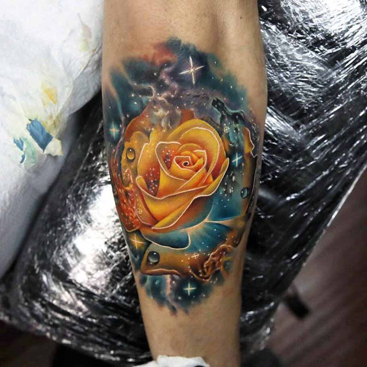 84 Best Rose Tattoos Images On Pinterest