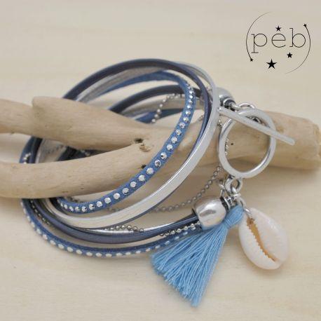 Bracelet BAHIA bleu