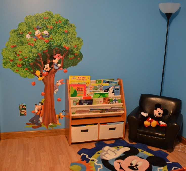 Mickey Mouse Bedroom Decorating Ideas: 18 Best Images About Mickey Mouse Bedroom Ideas On