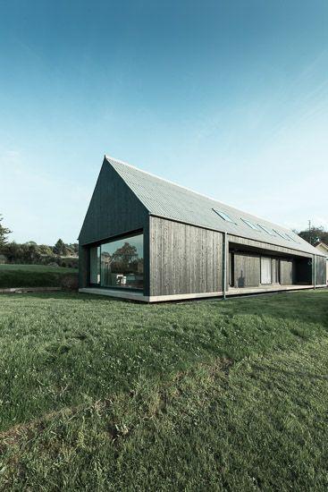 Lovely Bilder zur BauNetz Architektur Meldung vom Schwebende Scheune Einfamilienhaus im Saarland Aktuelle Architekturmeldungen aus dem In und Ausland
