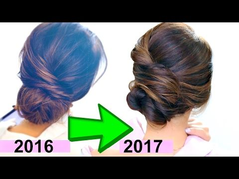 ★ 3-Minute Elegant BUN Hairstyle Every Girl DOESN'T ALREADY KNOW ★ Easy Updo Hairstyles - YouTube
