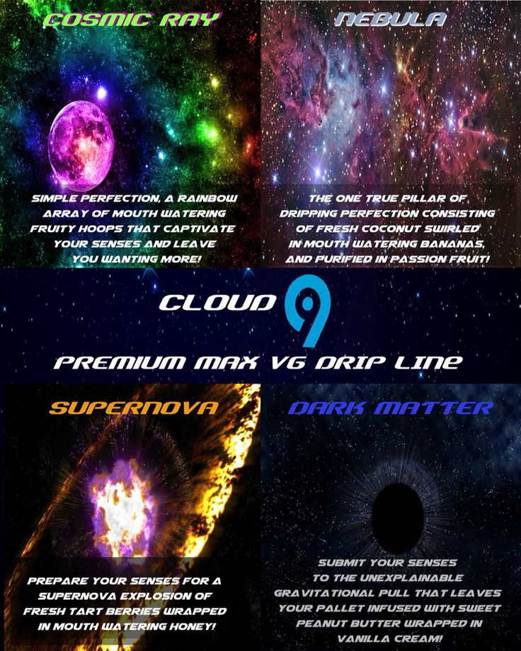 New cloud9 vapor drip line flavor menu