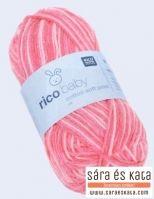 Rico Baby Cotton Soft Print egy puha kötő és horgolófonal, ami több színben elérhető üzletünkben, a tompa színektől kezdve a sötét és világos színekig egyaránt.  http://saraeskata.com/kotofonalak/termek/1414-rico-baby-cotton-soft-print-koeto-es-horgolofonal