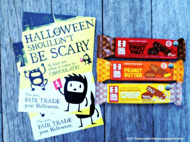 Celebrate Halloween & Fair Trade with Equal Exchange Chocolate! - Cooking with Books