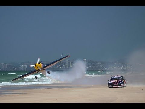 ▶ Red Bull Racing Australia: V8 Supercar vs. Aerobatic Plane - YouTube