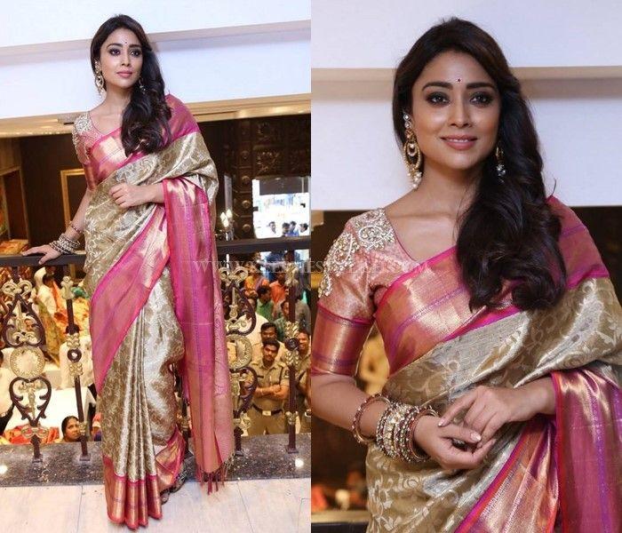 15 Amazing Saree Makeup Hairstyle Ideas To Try Now Keep Me Stylish Saree Trends Blouse Designs Silk Elegant Saree