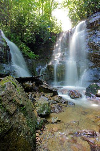 Soco Falls...between Maggie Valley and Cherokee NC