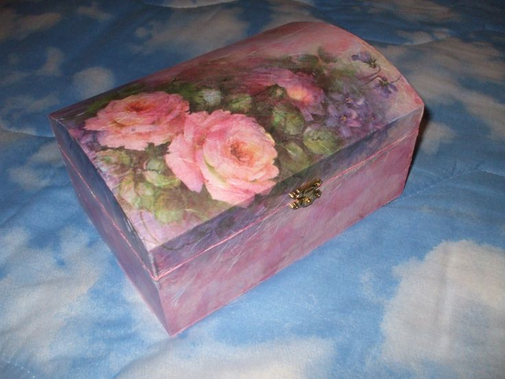 bauletto decoupage