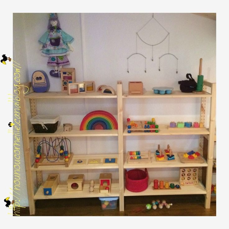 Plus de 1000 id es propos de montessori sur pinterest - Amenagement chambre montessori ...