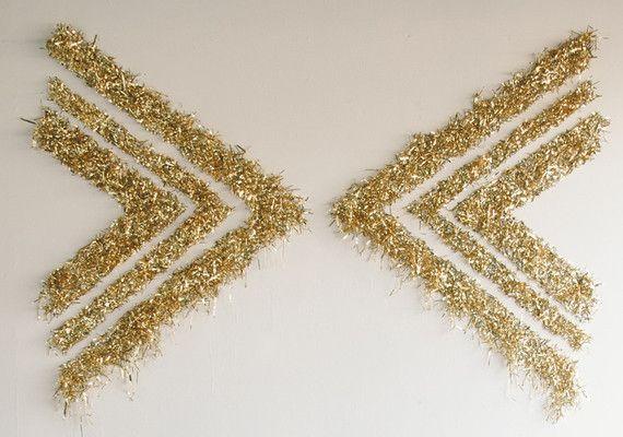 Gold Confetti Backdrop