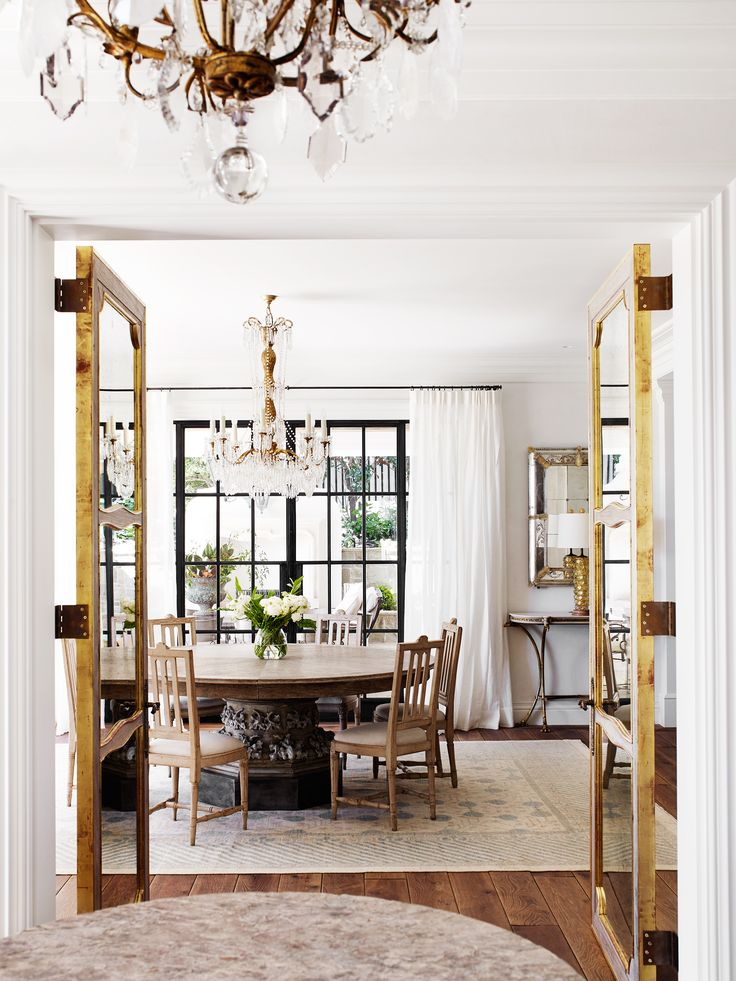 Family dining room from Italianate Mansion in Sydney by Dylan Farrell Design. Photography: Prue Ruscoe | Styling: Karen Cotton | Story: Belle