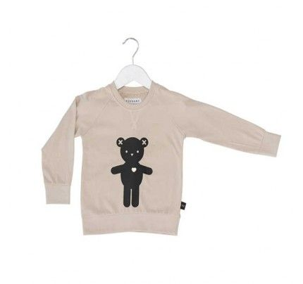 Heart Bear Light Sweatshirt