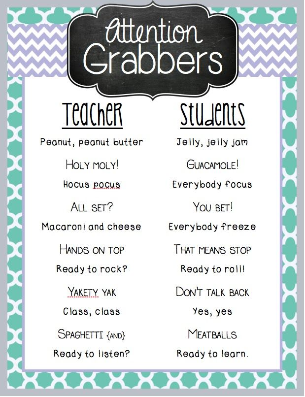 best classroom attention grabbers ideas best 25 classroom attention grabbers ideas attention grabbers teacher and classroom chants
